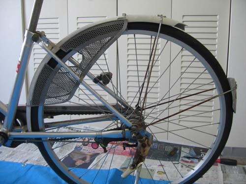 自転車の 自転車 シマノ 変速機 修理 : 自転車泥よけ・内装変速機修理 ...