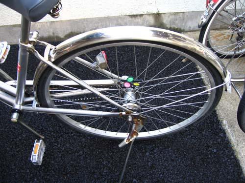 27インチ自転車泥よけ・内装 ...